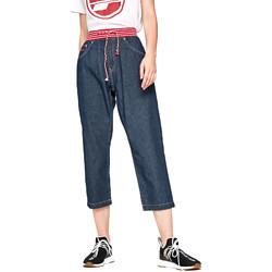 Textil Ženy Rifle 3/4 & 7/8 Pepe jeans PL203397R Modrý