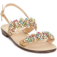 Boty Ženy Sandály Gold&gold A19 GL306 Hnědý