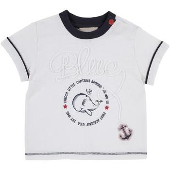 Textil Děti Trička s krátkým rukávem Chicco 09006679000000 Bílý