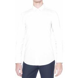 Textil Muži Košile s dlouhymi rukávy Antony Morato MMSL00375 FA450001 Bílý