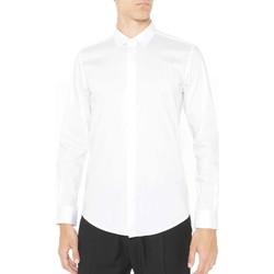 Textil Muži Košile s dlouhymi rukávy Antony Morato MMSL00293 FA450001 Bílý