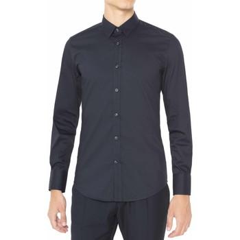 Textil Muži Košile s dlouhymi rukávy Antony Morato MMSL00375 FA450001 Modrý