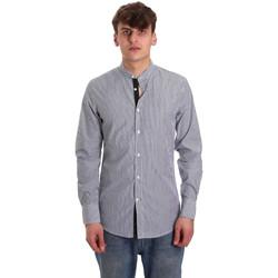 Textil Muži Košile s dlouhymi rukávy Antony Morato MMSL00588 FA420042 Modrý