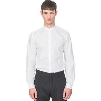 Textil Muži Košile s dlouhymi rukávy Antony Morato MMSL00604 FA440031 Bílý