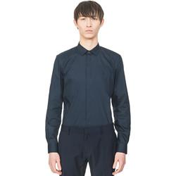 Textil Muži Košile s dlouhymi rukávy Antony Morato MMSL00293 FA450001 Modrý