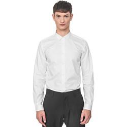 Textil Muži Košile s dlouhymi rukávy Antony Morato MMSL00596 FA400072 Bílý