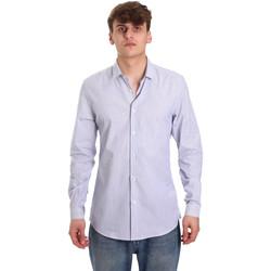 Textil Muži Košile s dlouhymi rukávy Antony Morato MMSL00596 FA420090 Bílý