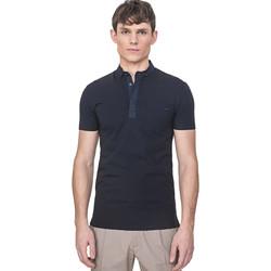 Textil Muži Polo s krátkými rukávy Antony Morato MMKS01741 FA120022 Modrý