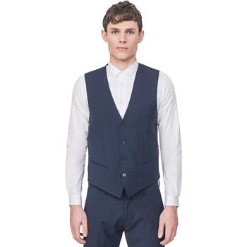Textil Muži Svetry / Svetry se zapínáním Antony Morato MMVE00087 FA650176 Modrý