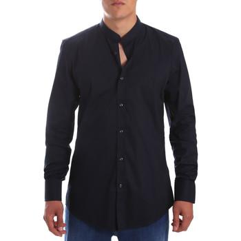 Textil Muži Košile s dlouhymi rukávy Antony Morato MMSL00376 FA450001 Modrý