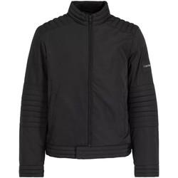 Textil Muži Teplákové bundy Calvin Klein Jeans K10K104435 Černá