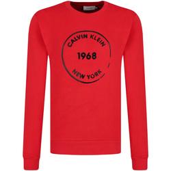 Textil Muži Mikiny Calvin Klein Jeans K10K104548 Červené