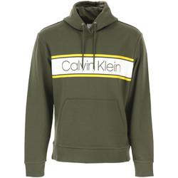 Textil Muži Mikiny Calvin Klein Jeans K10K104401 Zelený