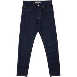 Textil Muži Rifle rovné Calvin Klein Jeans J30J312022 Modrý