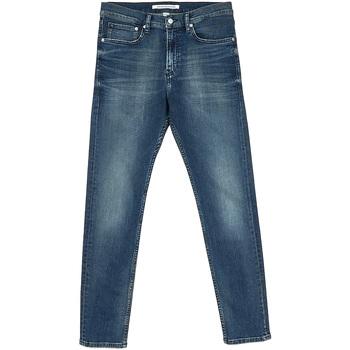 Textil Muži Rifle rovné Calvin Klein Jeans J30J312353 Modrý