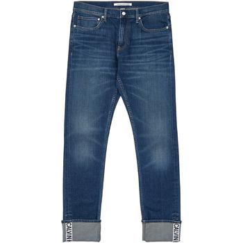 Textil Muži Rifle rovné Calvin Klein Jeans J30J312361 Modrý