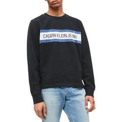 Textil Muži Mikiny Calvin Klein Jeans J30J312448 Černá