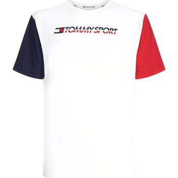Textil Muži Trička s krátkým rukávem Tommy Hilfiger S20S200103 Bílý