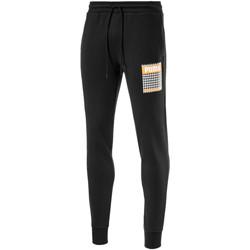 Textil Muži Teplákové kalhoty Puma 596873 Černá