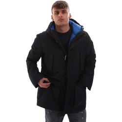 Textil Muži Parky U.S Polo Assn. 52338 52555 Modrý