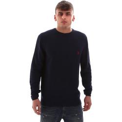 Textil Muži Svetry U.S Polo Assn. 52470 52612 Modrý