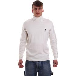 Textil Muži Svetry U.S Polo Assn. 52484 48847 Bílý