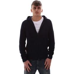 Textil Muži Teplákové bundy U.S Polo Assn. 52382 52229 Modrý