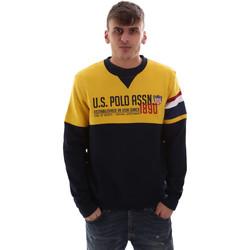 Textil Muži Mikiny U.S Polo Assn. 52522 49151 Žlutá