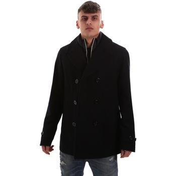 Textil Muži Kabáty Navigare NV62017 Modrý
