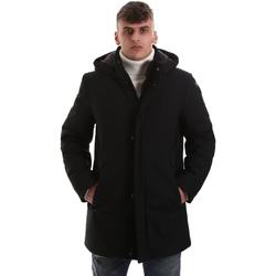 Textil Muži Kabáty Navigare NV68081 Černá