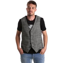 Textil Muži Svetry / Svetry se zapínáním Gaudi 921FU35035 Šedá