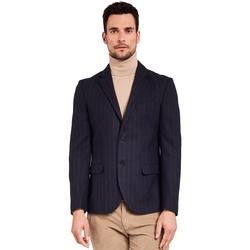 Textil Muži Saka / Blejzry Gaudi 921FU35057 Modrý