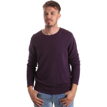 Textil Muži Svetry Gaudi 921FU53017 Fialový