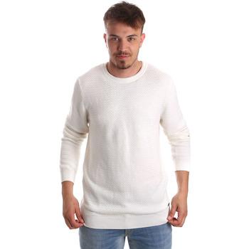 Textil Muži Svetry Gaudi 921FU53020 Bílý