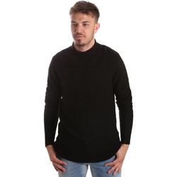 Textil Muži Svetry Gaudi 921FU53025 Černá