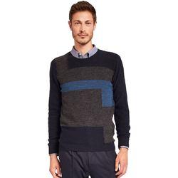 Textil Muži Svetry Gaudi 921FU53044 Modrý