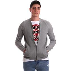 Textil Muži Svetry / Svetry se zapínáním Gaudi 921BU53015 Šedá