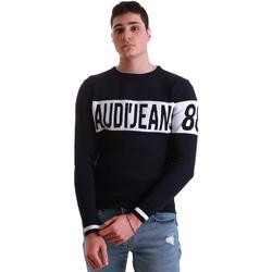 Textil Muži Svetry Gaudi 921BU53067 Modrý