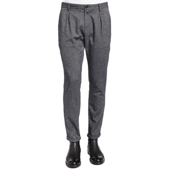 Textil Muži Oblekové kalhoty Gaudi 921BU25018 Černá