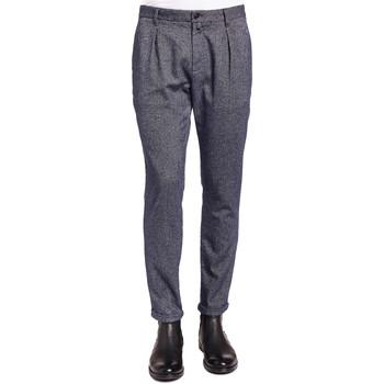 Textil Muži Oblekové kalhoty Gaudi 921BU25018 Modrý