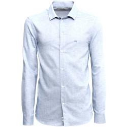 Textil Muži Košile s dlouhymi rukávy Nero Giardini A973180U Modrý