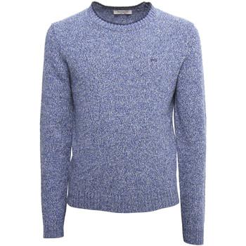 Textil Muži Svetry NeroGiardini A974510U Modrý