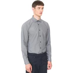 Textil Muži Košile s dlouhymi rukávy Antony Morato MMSL00548 FA430389 Modrý