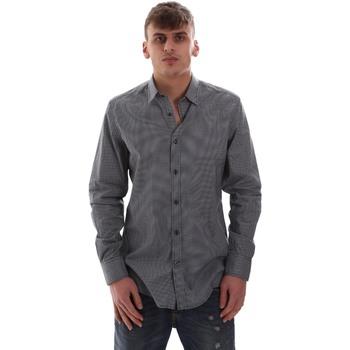 Textil Muži Košile s dlouhymi rukávy Antony Morato MMSL00574 FA430158 Modrý