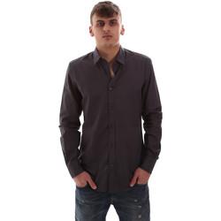 Textil Muži Košile s dlouhymi rukávy Antony Morato MMSL00574 FA430403 Šedá