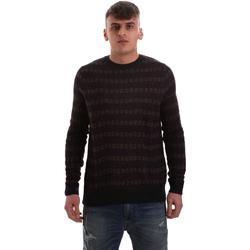 Textil Muži Svetry Antony Morato MMSW00972 YA400113 Modrý