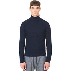 Textil Muži Svetry Antony Morato MMSW00977 YA200055 Modrý