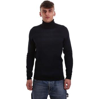 Textil Muži Svetry Antony Morato MMSW00986 YA400006 Modrý