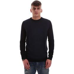 Textil Muži Svetry Antony Morato MMSW01000 YA400006 Modrý