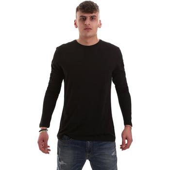 Textil Muži Trička s dlouhými rukávy Antony Morato MMKL00264 FA100066 Černá